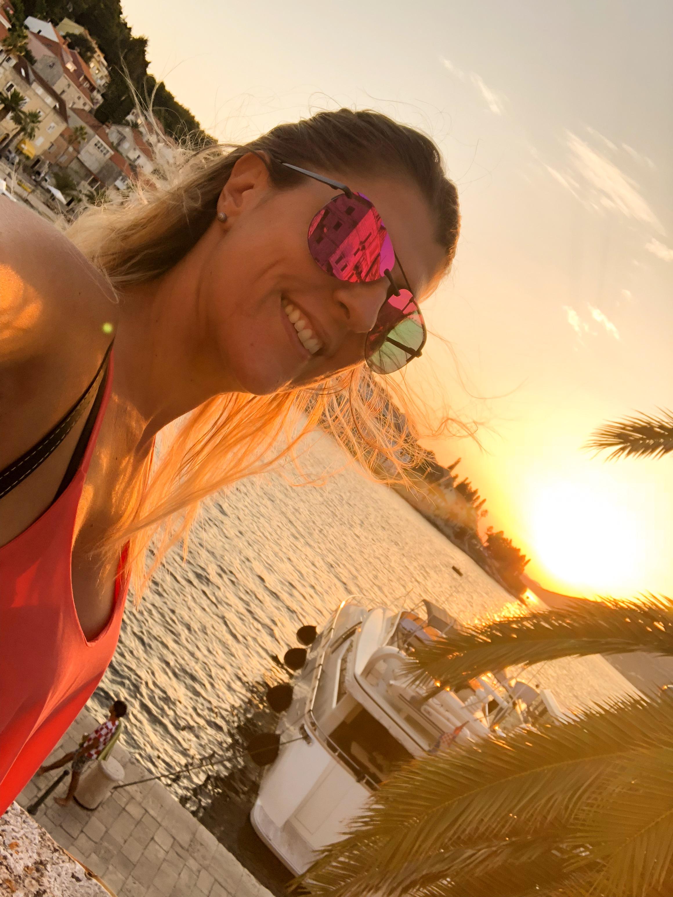 sunset croatie les bons plans de stef